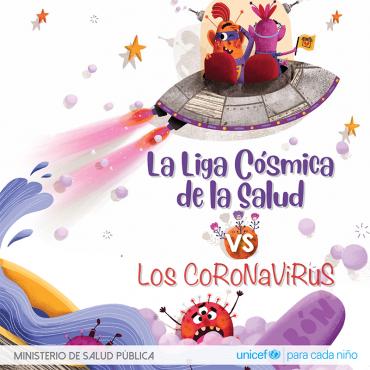 La Liga Cósmica de la Salud vs  Los Coronavirus